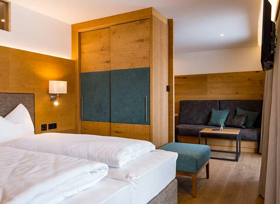 Weinstube-Seefeld-Appartements-Standard-Schlafen